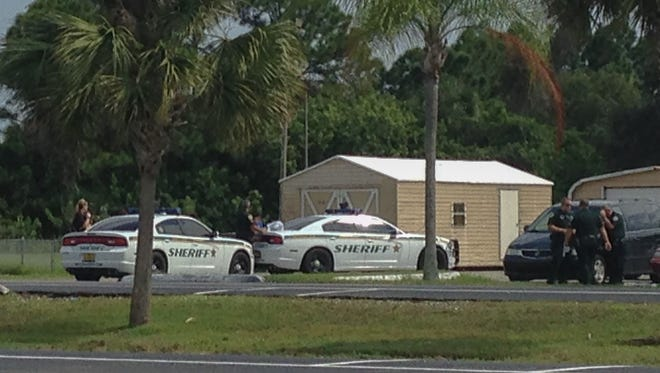 Sheriffs deputies responded to the Devereux campus in Viera Sunday after as many as 15 juveniles walked away from the facility following a disturbance