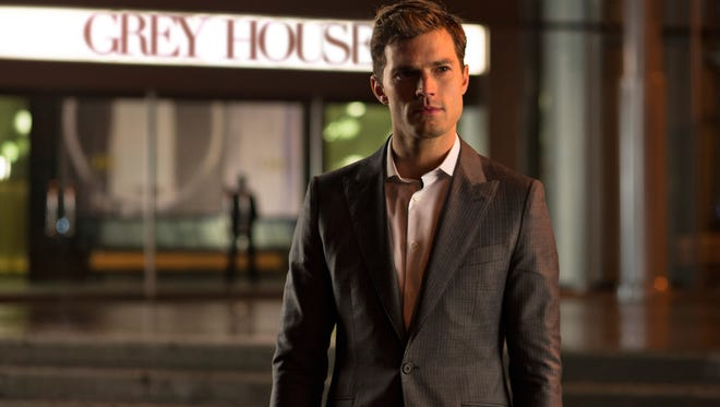 """Jamie Dornan stars as billionaire entrepreneur Christian Grey in a scene from the motion picture """"Fifty Shades of Gray."""""""