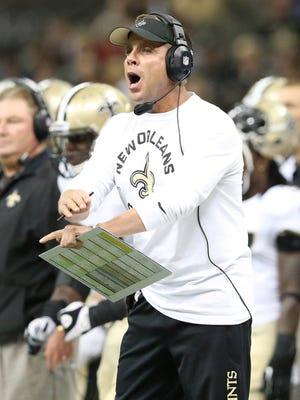 New Orleans Saints  coach Sean Payton.
