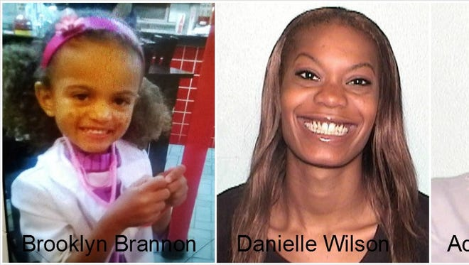 Anyone with information on the whereabouts of Brooklyn Brannan, her mother Danielle Wilson or grandmother Adrienne A. Johnson, is asked to call 911 immediately or their local law enforcement agency. Las Cruces Police can be reached at 575-526-0795