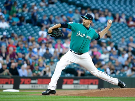 Mariners starter James Paxton allowed just two hits