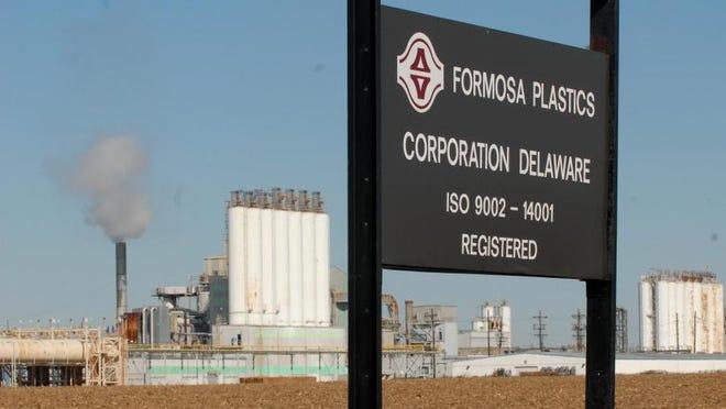 Formosa Plastics, north of Delaware City