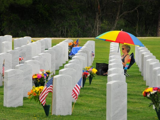 Cape Canaveral National Cemetery Memorial Day