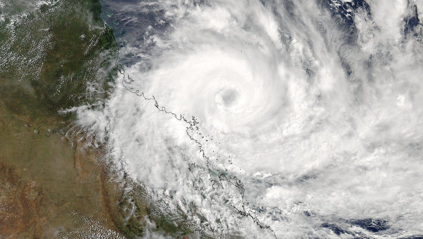 Hayman Island Weather Cyclone