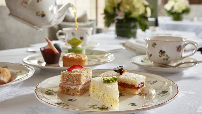 The hotel has a tea sommelier and pairs the variety of teas offered with cakes, pastries and sandwiches, Thursday to Sunday.