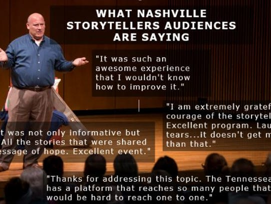 The next Nashville Storytellers will feature some of