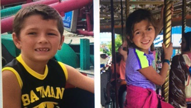 Rene Pasztor, 6, left; and Liliana Hernandez, 7, were found dead Sept. 26, 2016, in the car their mother was driving after a daylong Amber Alert was issued for their return.