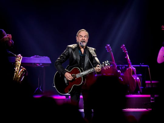 Neil Diamond at Talking Stick Resort Arena Friday,