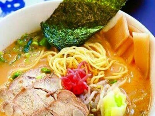 Menkoi Ramen House specializes in traditional Japanese style ramen.