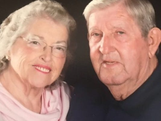 Anniversaries: Perry Holcombe & Dorothy Holcombe