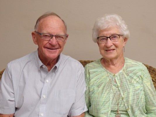 Anniversaries: Roy Folkerts & Lois Folkerts