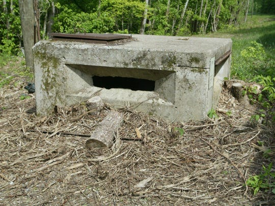 Pillboxes were where the Marines stood to guard the