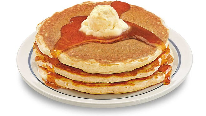 Buttermilk pancakes will be on sale for less than a $1 at two Rochester-area IHOP locations.