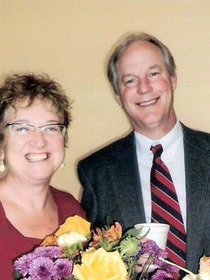 Ellen Robinson, left, and the Rev. James Robinson.