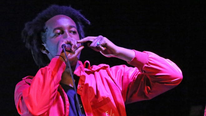 Milwaukee rapper WebsterX headlines Turner Hall Ballroom Friday.