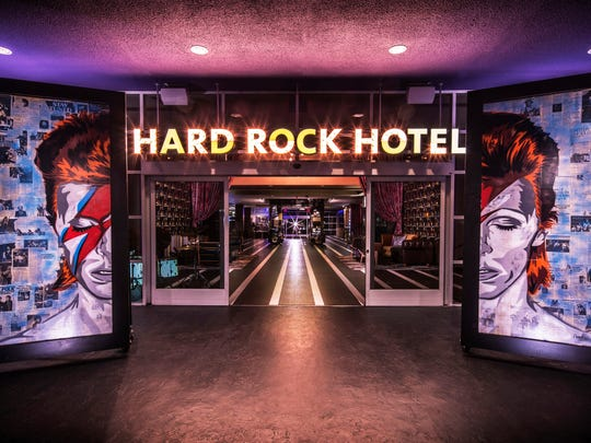 The Hard Rock Hotel in Palm Springs. File photo.