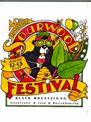 Jack Williams won the 40th Anniversary Sourwood Festival poster contest.