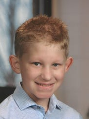 Gage Carter, 10, was killed after being hit by a vehicle