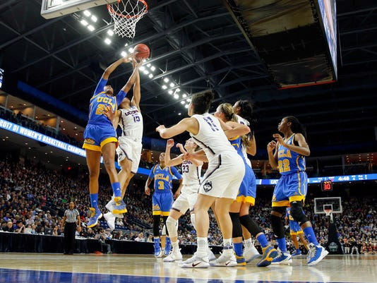 NCAA Womens Basketball: NCAA Tournament-Bridgeport Regional-Connecticut vs UCLA