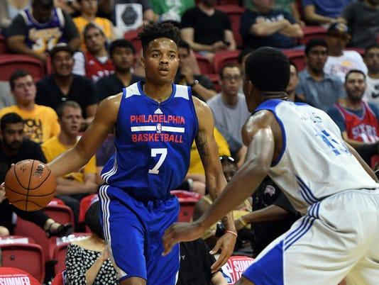 2017 Las Vegas Summer League - Philadelphia 76ers v Golden State Warriors