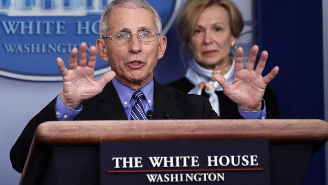 A Vox caller says Dr. Anthony Fauci, director of the National Institute of Allergy and Infectious Diseases, and Dr. Deborah Birx, White House coronavirus response coordinator, have been running the country for months.