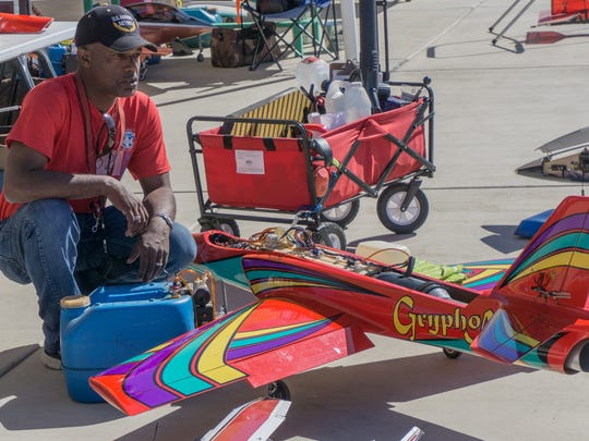 The Gryphon is a highly aerobatic plane owned by Ray Gould of Hemet.