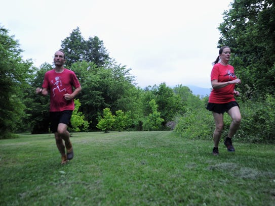 Sam Moore said that running with wife Julia brought them closer. The two will take on the Black Mountain Monster together for the first time on June 2.