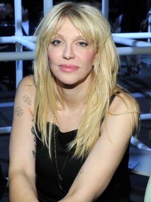 Courtney Love on Sept. 7, 2013 in New York City.