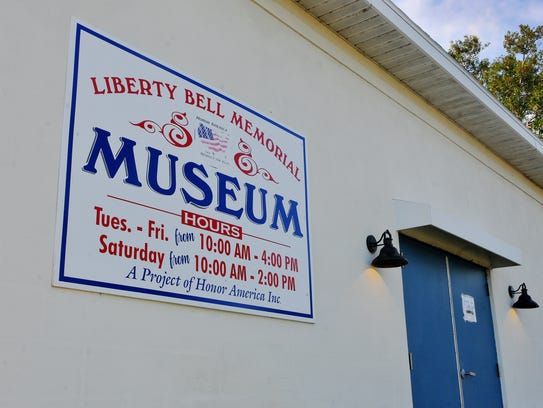 The Liberty Bell Memorial Museum in Melbourne.