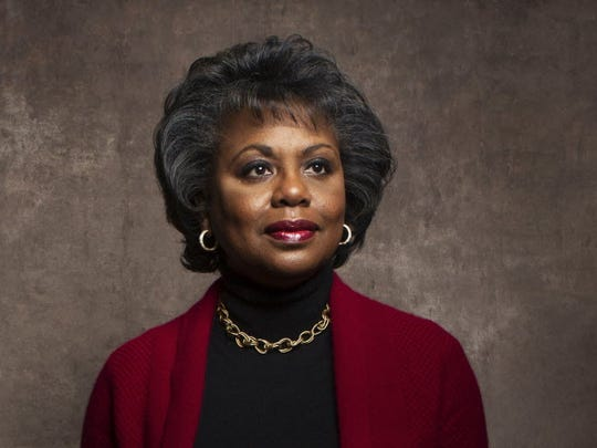 This 2013 file photo shows Anita Hill during the Sundance