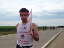 Iowa State grad sets world record for running across the country