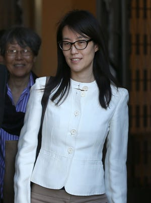 Ellen Pao leaves the courthouse in March.