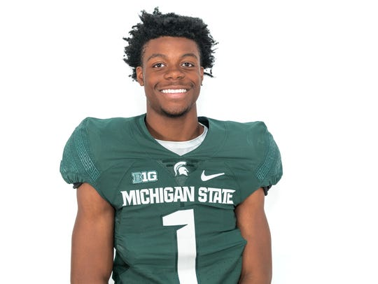 Wide receiver Alante Brown will wear No. 3 when he
