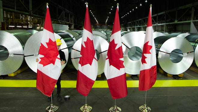 Canada announced billions of dollars in retaliatory tariffs against the U.S. on Friday in a tit for tat response to the Trump administration's duties on Canadian steel and aluminum.