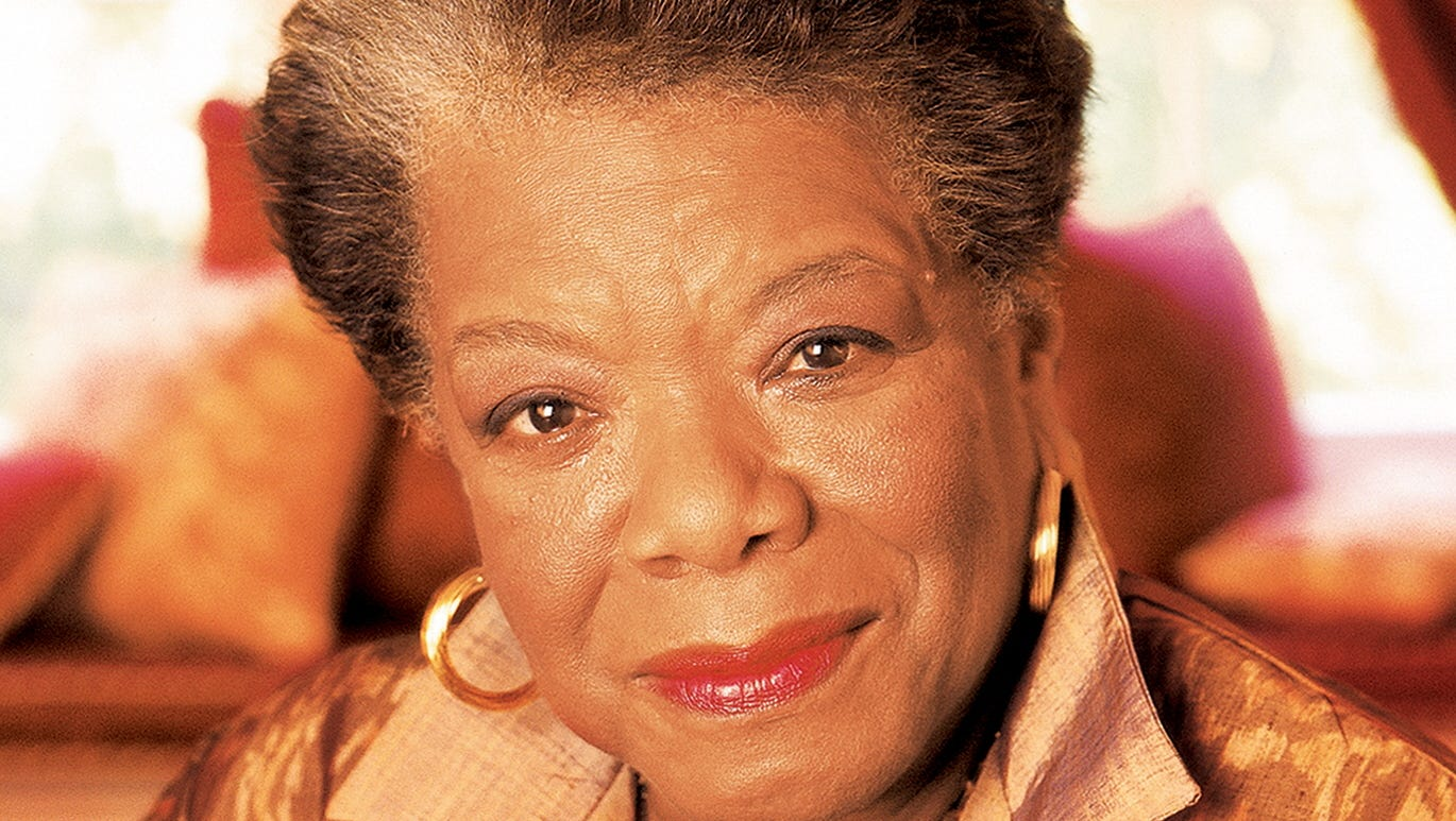 Poet Maya Angelou wholesome stories about famous women