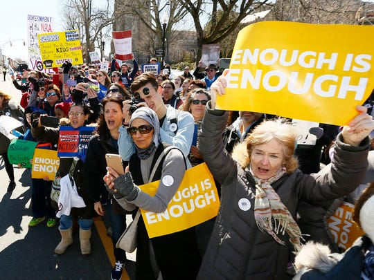 The National School Walkout follows in the footsteps of March for Our Lives.