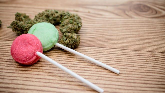 Marijuana and pot edibles.