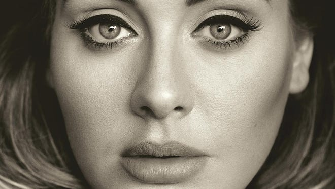 "This CD cover image released by Columbia Records shows, ""25,"" the latest release by Adele."