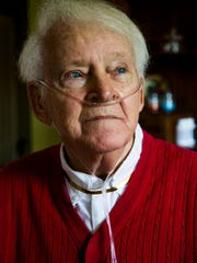 Del Ackerman, 81, in his Naples home on Friday, Aug.
