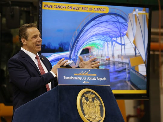 Gov. Andrew Cuomo outlines the highlights of the Rochester