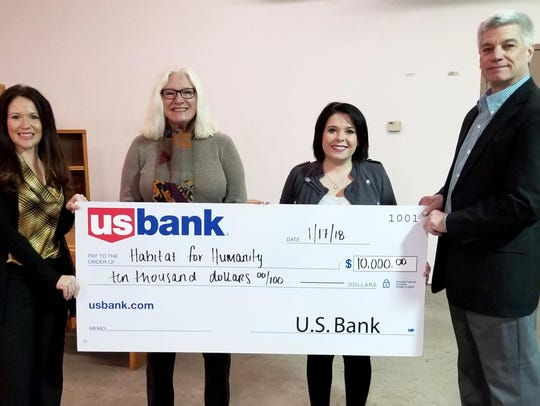 U.S. Bank Foundation recently awarded a grant of $10,000