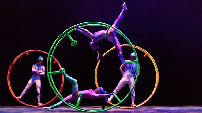 Cirque Ziva — The acrobat show is 7 p.m. Saturday, Jan. 30 at the Visalia Fox Theatre. Tickets: Admission is $9-$14 for the 4 p.m. Children's one-hour matinee performance, $21-$29 for the 7:30 p.m. evening performance. Information: 625-1369 or www.foxvisalia.org