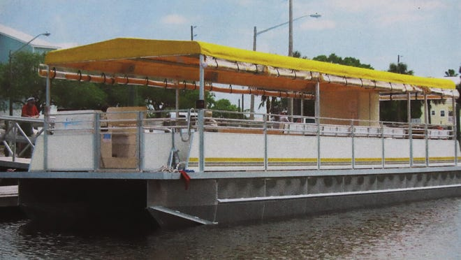 "A 48 foot pontoon boat called the ""Legacy"" is being constructed in Florida for Nauvoo River Experience and is scheduled for delivery around the middle of July to Nauvoo, Illinois. The boat will seat 60 passengers and take excursions on the Mississippi River. Saturday June 27, 2020"