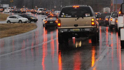Traffic moves along Taylor Road near Interstate 85 in Montgomery on Monday.