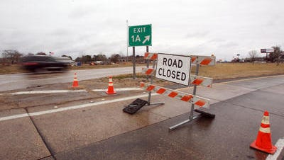Road closures announced for Acadiana.