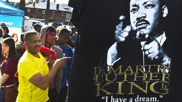 Martin Luther King Day celebration 2014