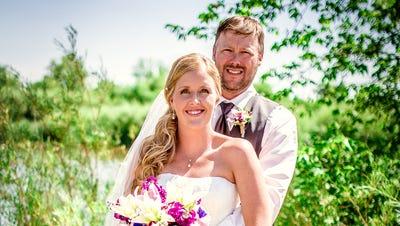Kristin Ronke and Jason Taylor