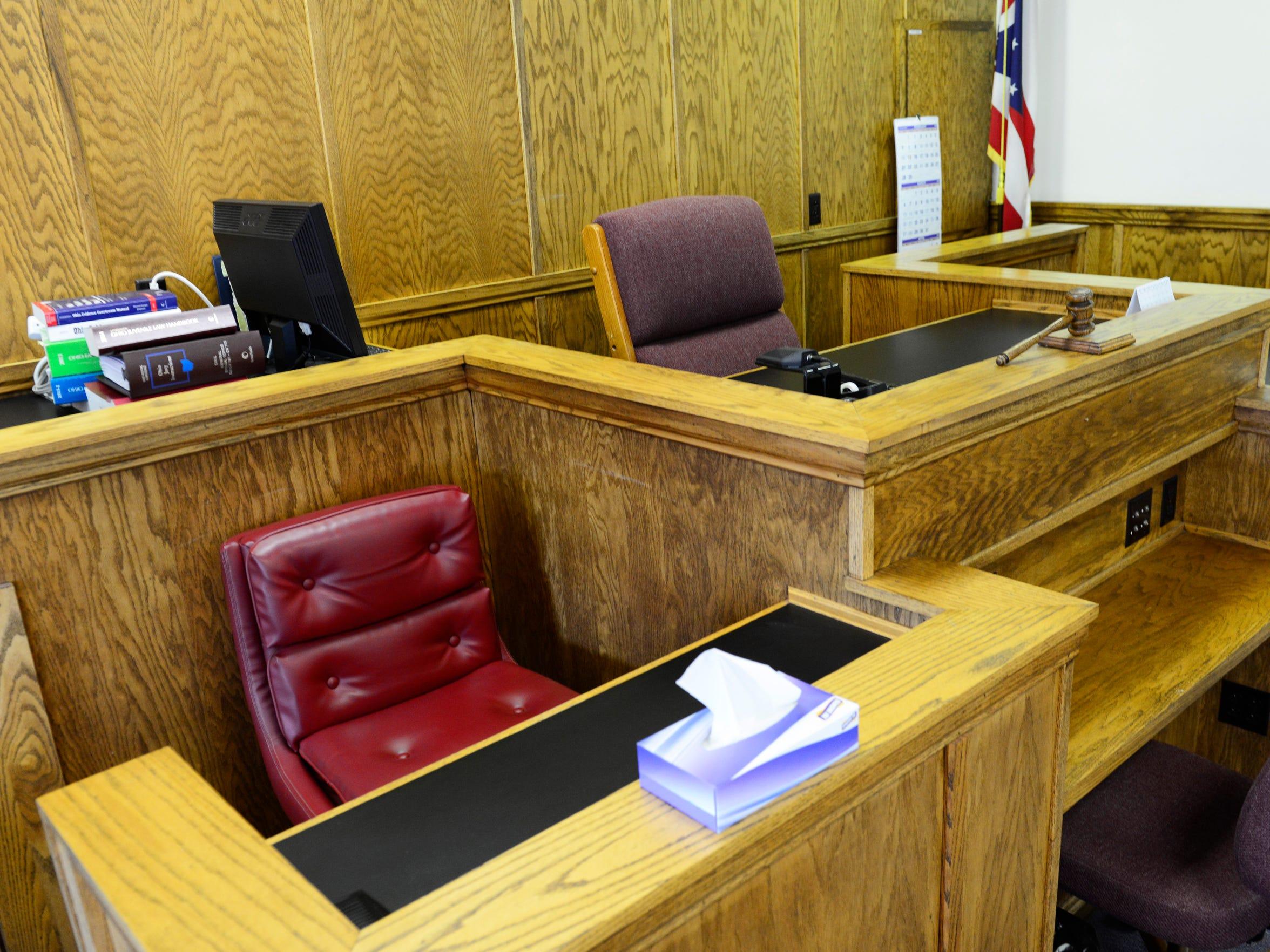 The number of permanent child custody hearings in Sandusky