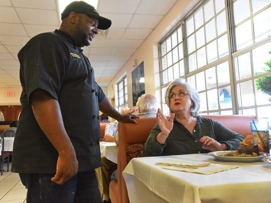 Crescent City Bistro owner Chef Darrell Johnson talks