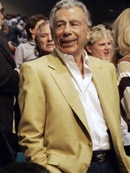 In this May 5, 2008 file photo, billionaire Kirk Kerkorian